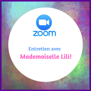 Consultations zoom avec Mademoiselle Lili Astrologue
