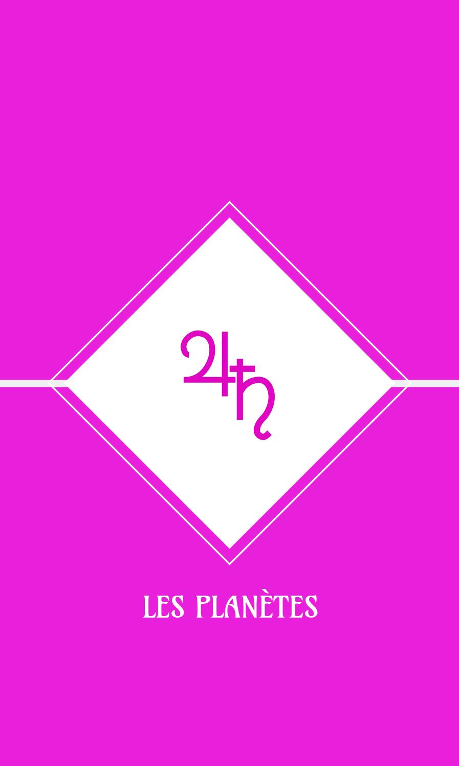 Astro-Oracles les planètes