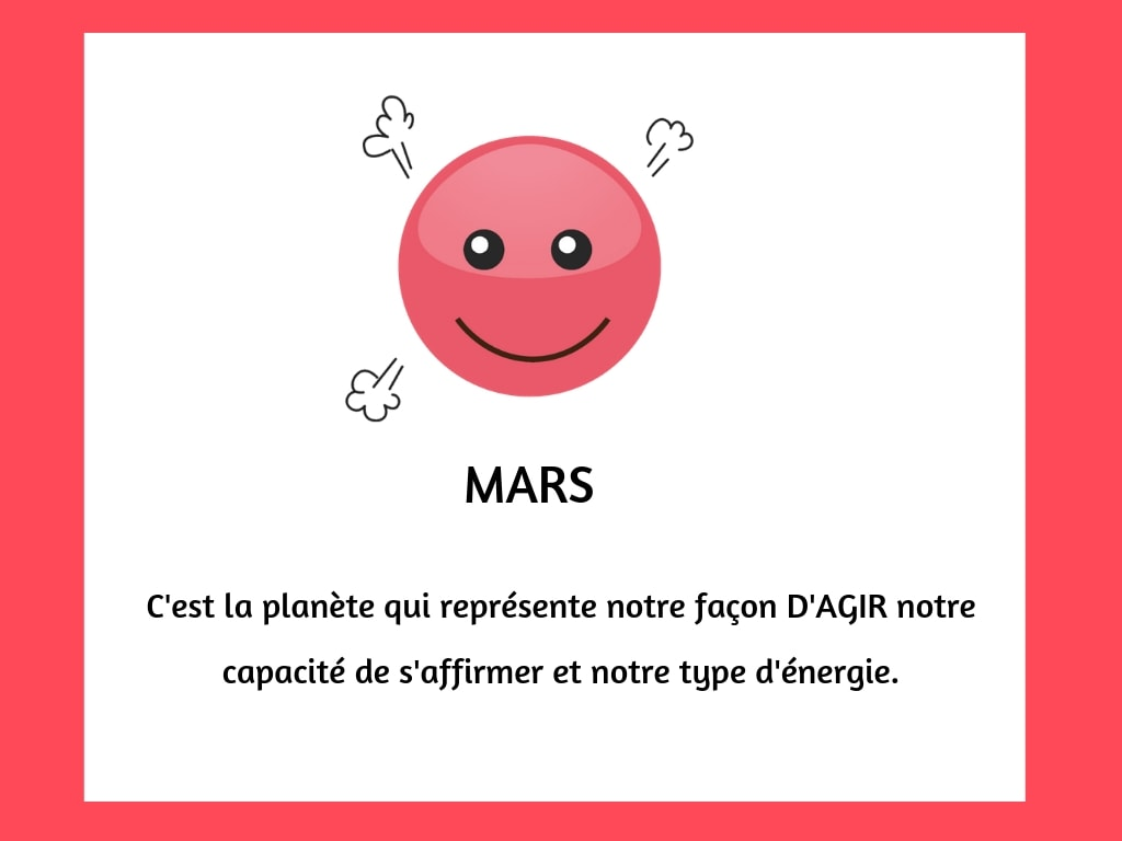 planètes emoji mars