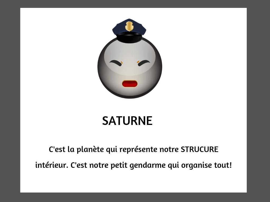 planètes emoji saturne