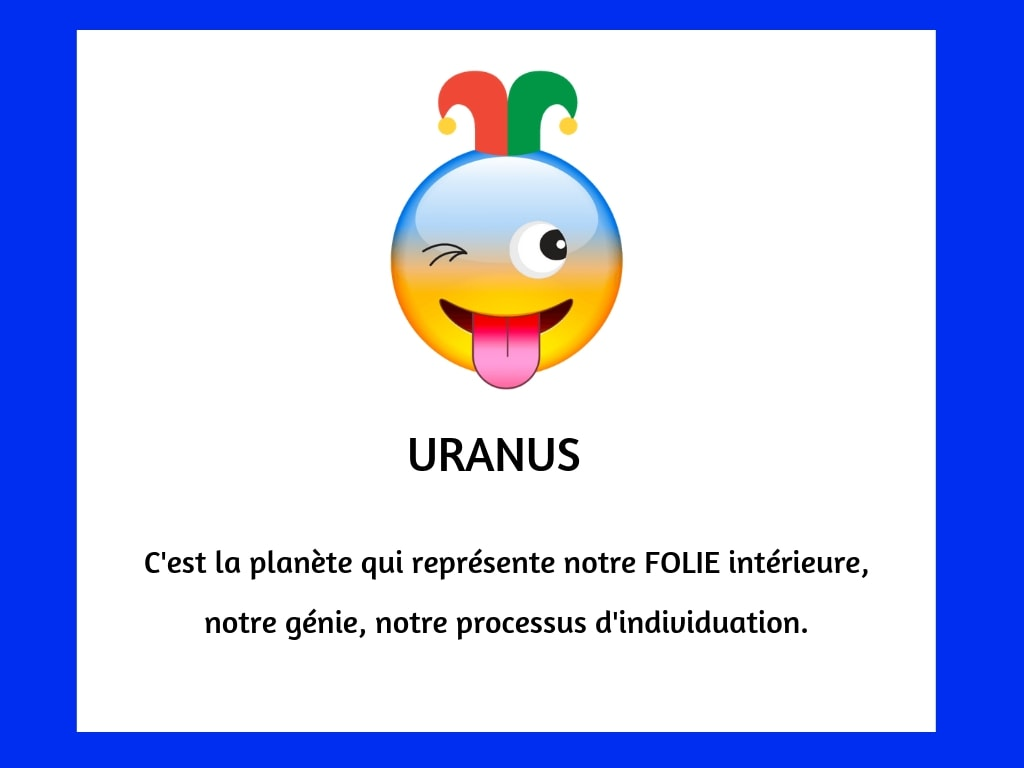 planètes emoji uranus