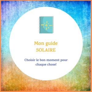 Guide solaire astrologique de mademoiselle lili